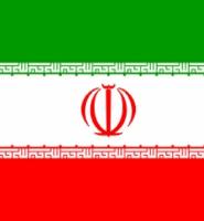 Iran Iranian flag 5ft x 3ft with eyelets