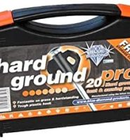 Hard ground pegs black ( box 20 )  tent pegs by Blue diamond Outdoor Revolution for awning canopy and tent