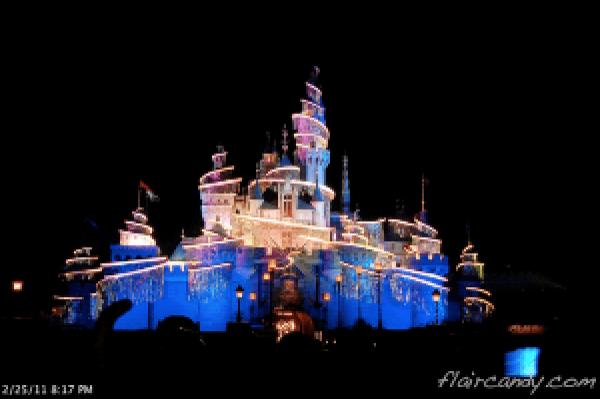 Disney in the Stars Fireworks Display Hong Kong Disneyland Fireworks