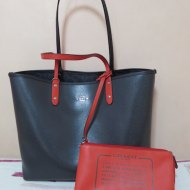 Coach Reversible City Tote in Denim and Midnight F5829 SVM2Q