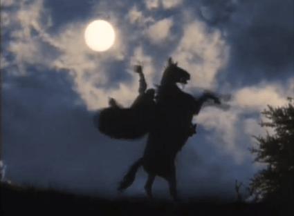 Image du générique de la mytique série Zorro