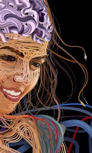 Charis Tsevis - Illustrations avec des câbles
