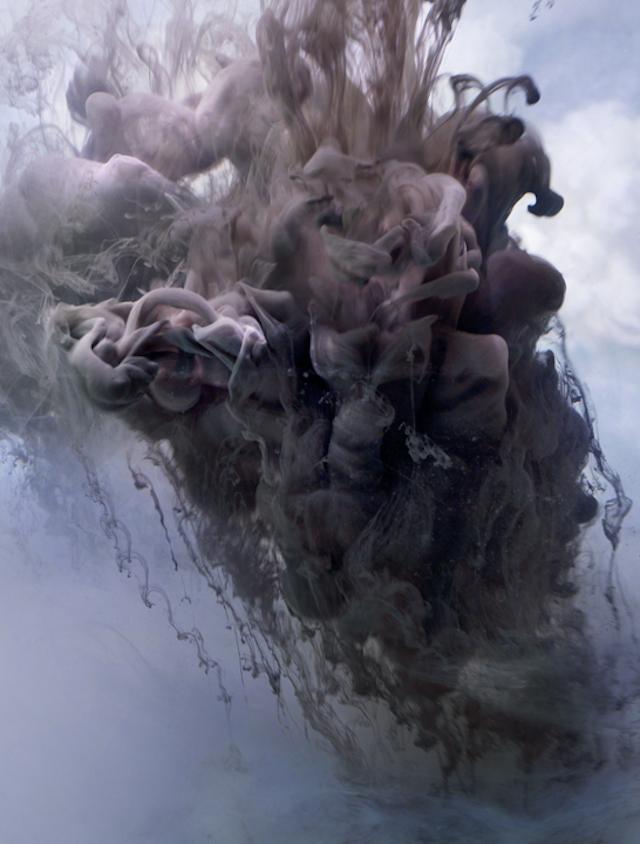 Kim Keever - Colorful Smoke