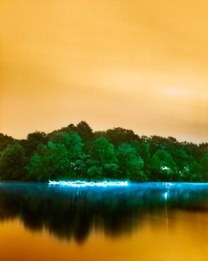 Paysage lumineux par Barry Underwood