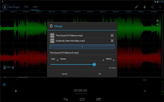 RecForge II pour Android