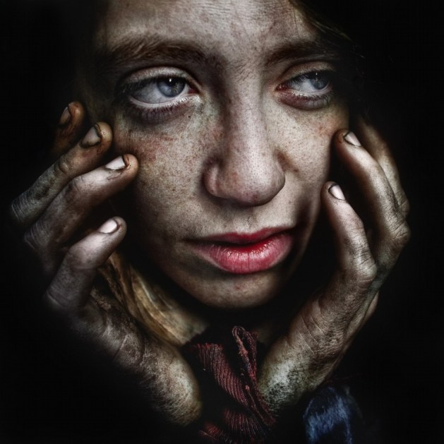Lee Jeffries - La misère en face à face