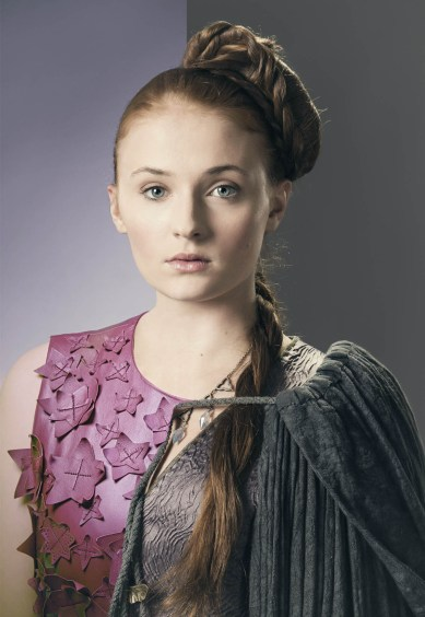 Sansa Stark - Sophie Turner par Gianfranco Gallo