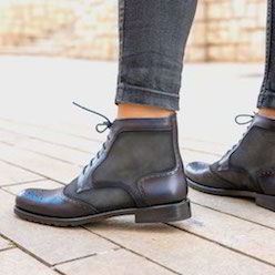 lace up boot woman