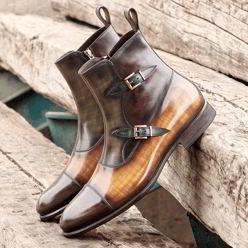 octavian boot patina