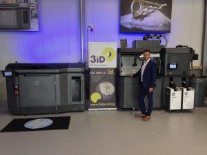 West-Vlaams bedrijf neemt als allereerste ter wereld 3D-printer van HP in commercieel gebruik