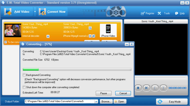 Total Video Converter 3.71 Registration Code + Serial Key [Updated] Free Download