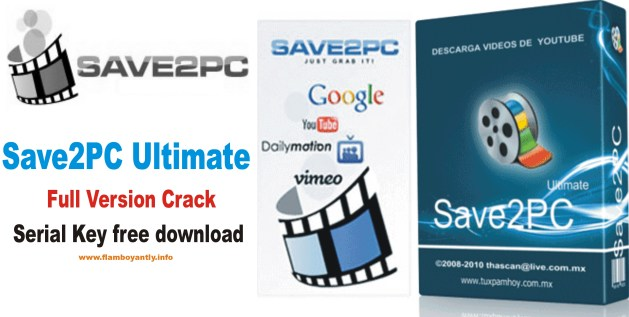 Save2PC Ultimate Full Version Crack Serial Key free download