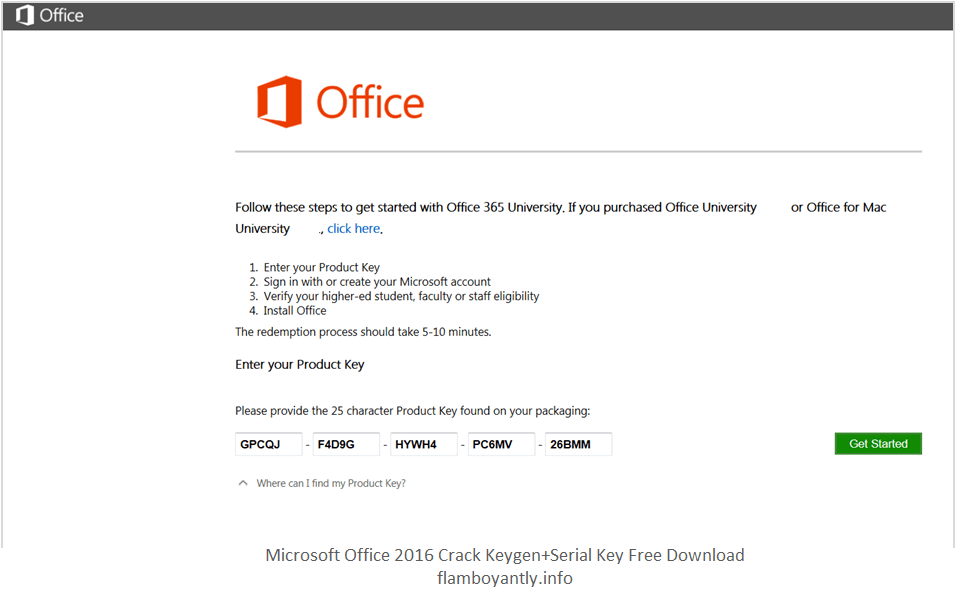 microsoft office 2016 product key 94fbr
