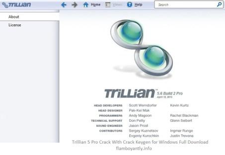 Trillian 5 Pro Crack With Crack Keygen for Windows Full Download