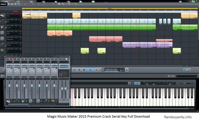 Magix Music Maker 2015 Premium Crack Serial Key Full Download