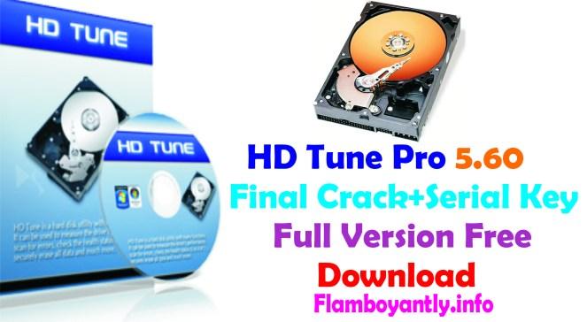 HD Tune Pro 5.60 Final Crack+Serial Key Full Version Free Download