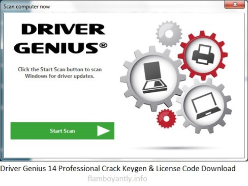Driver Genius 14 Professional Crack Keygen & License Code Download