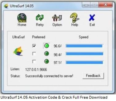 UltraSurf 14.05 Activation Code & Crack Full Free Download