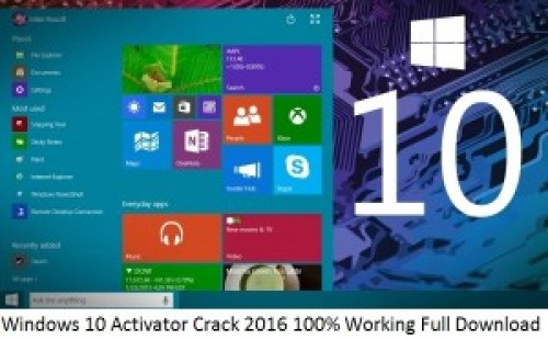 Windows 10 Activator Crack 2016 100% Working Full Download