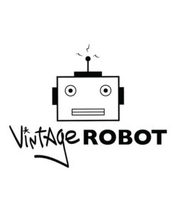 Vintage Robot - Table F74