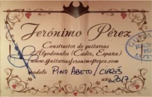 Jerónimo Pérez