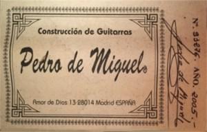 Pedro de Miguel