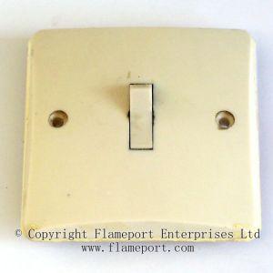 MK plastic light switches