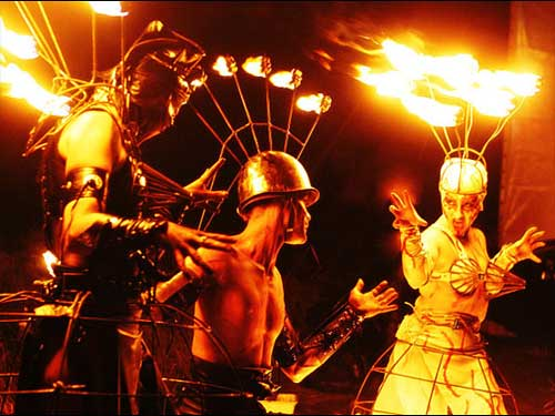 Flames of Chaos op Dance Valley 2007