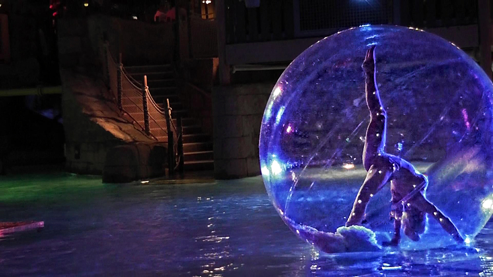 Bubble Spheres Flaming Fun Event Entertainment Agent