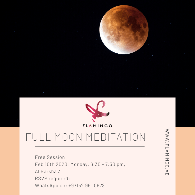 Full moon meditation-February 2020