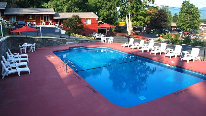 West Side Heated Pool