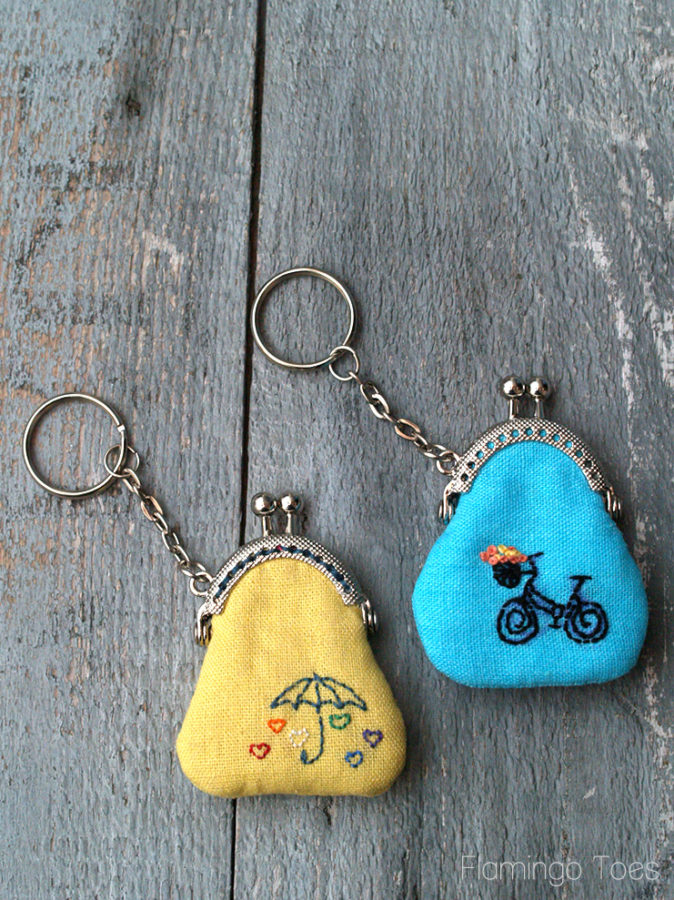 How to Make a Keychain Coin Purse