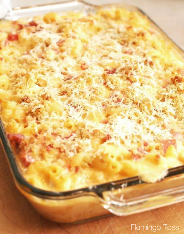 Spicy Macaroni and Cheese