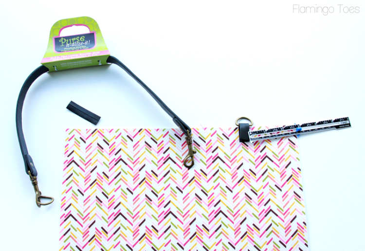 Attaching Purse Handles to Bag