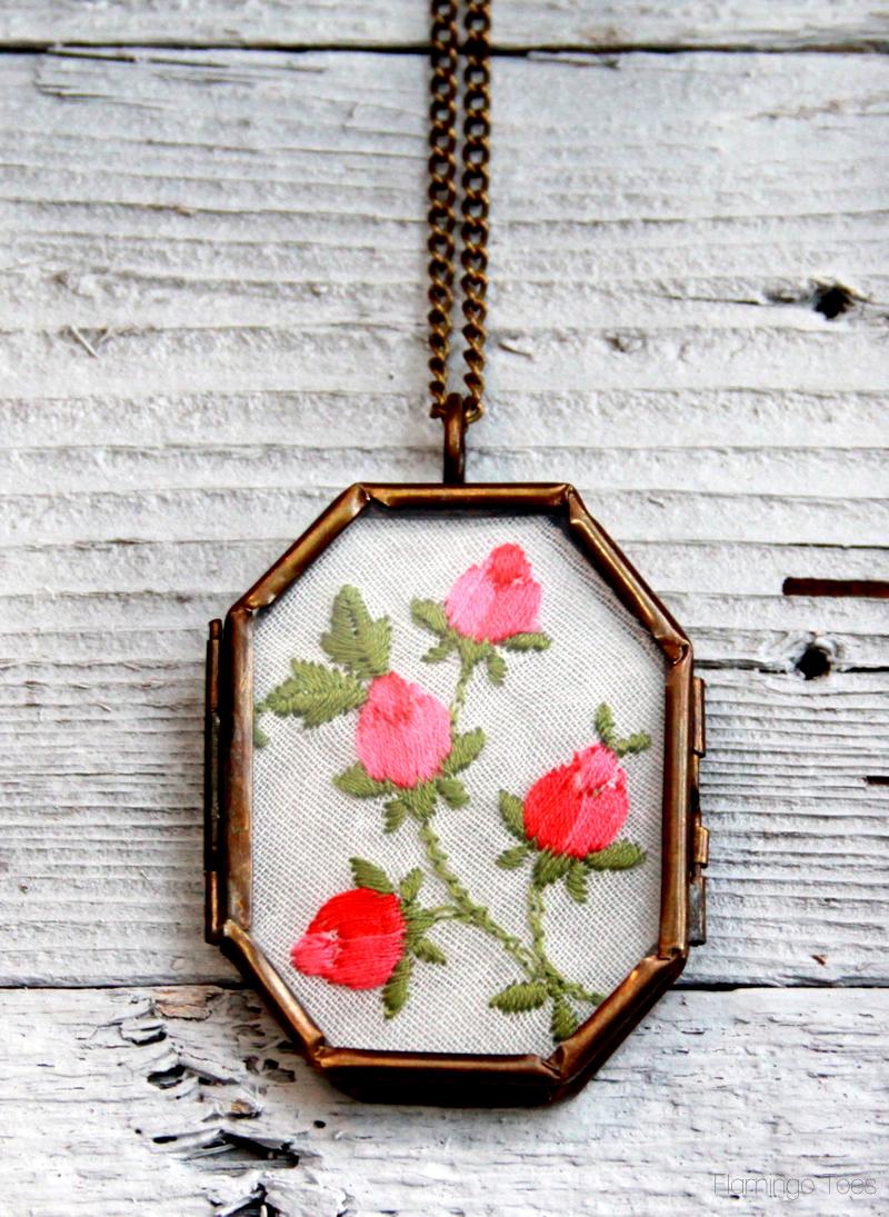Vintage Handkerchief Necklace
