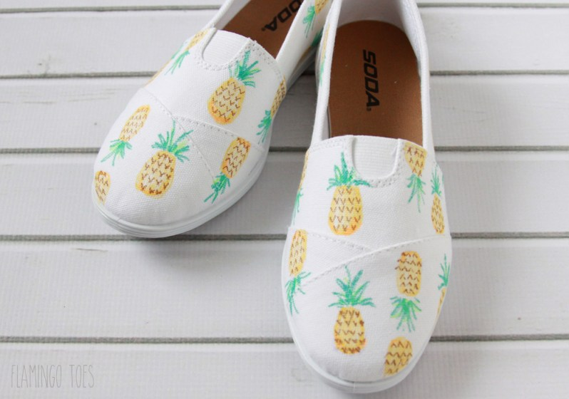 Cute Pineapple Shoes