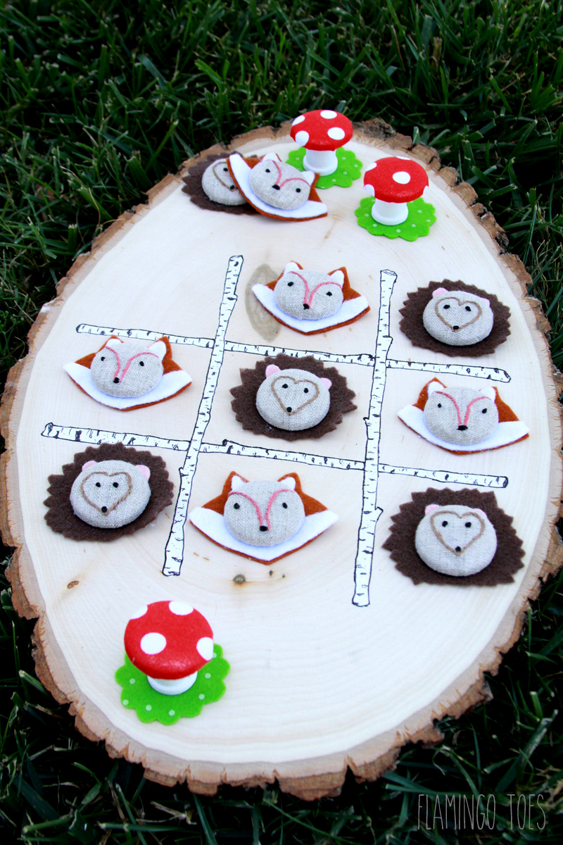 Forest Animals Tic Tac Toe