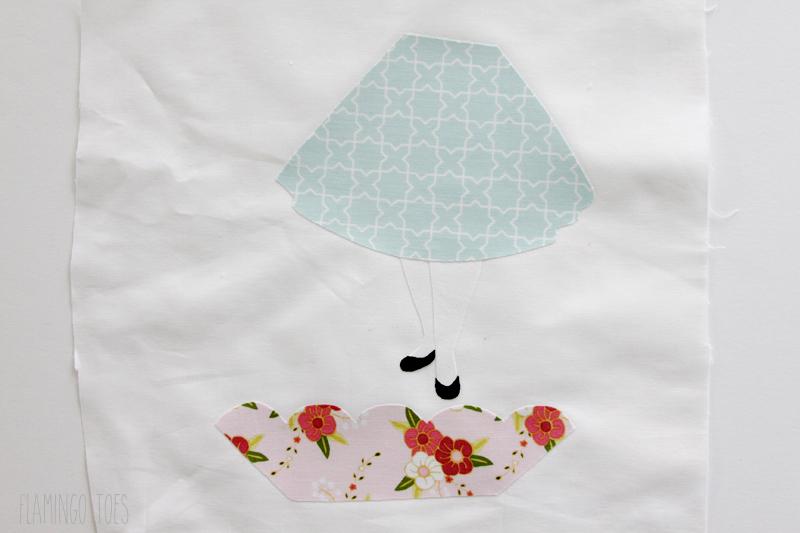 Alice in Wonderland Hoop fabrics