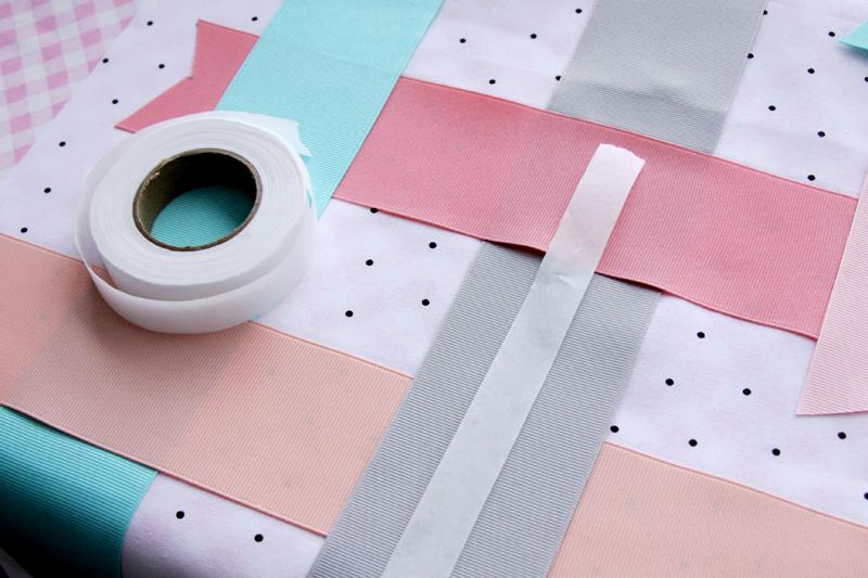 Fusing Ribbon to Fabric
