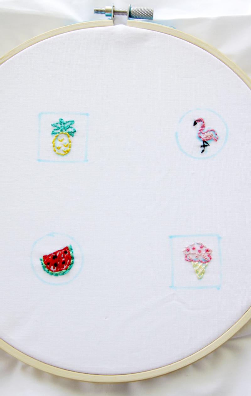Mini Summer Embroidery