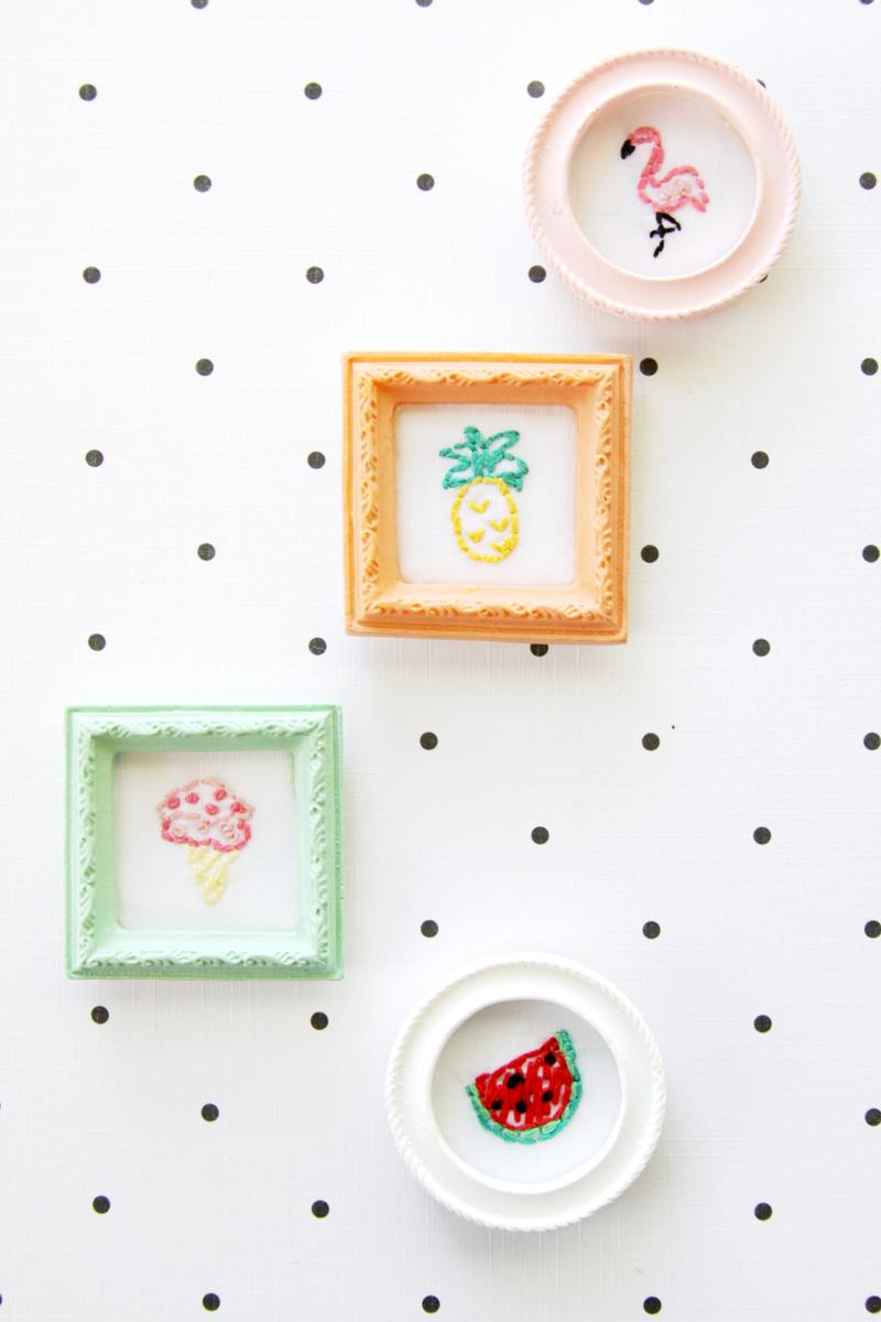 Teeny Tiny Embroidery for Summer