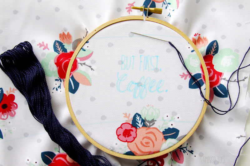Coffee Embroidery