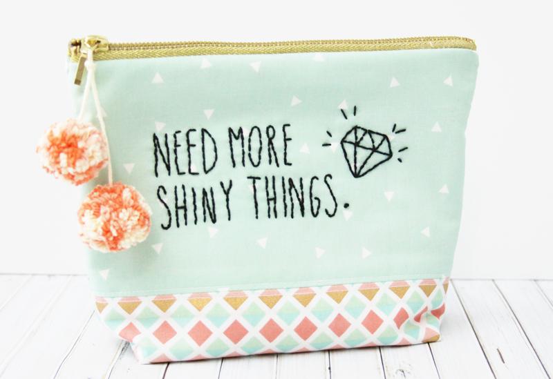 Cute Shiny Things Zipper Pouch