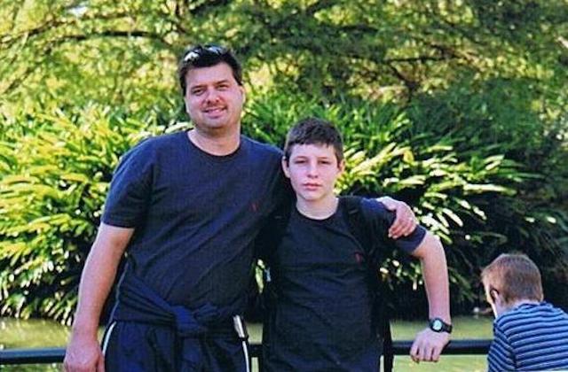 Jonathan and Dad