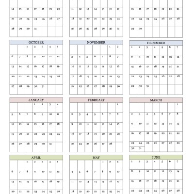 Printable Calendars Archives  Flanders Family Homelife