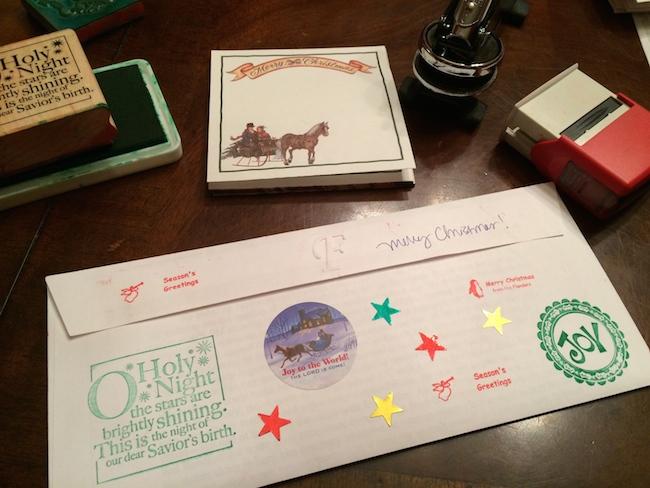 Free Printable Envelope Seals For Christmas Flanders