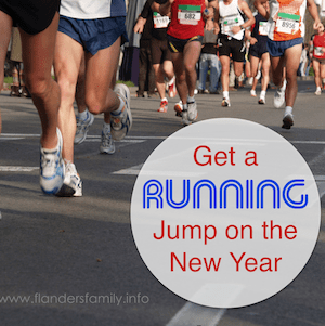Get a Running Jump on the New Year