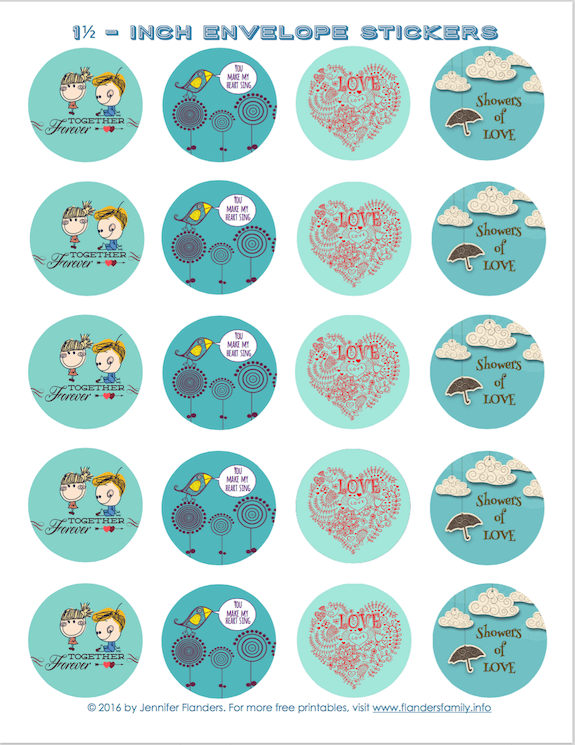 Lots Of Free Printable Cards And Stickers For Valentineu0027s Day, In A Variety  Of Styles