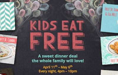 Free Kids' Meals, Report Card Rewards, and More!