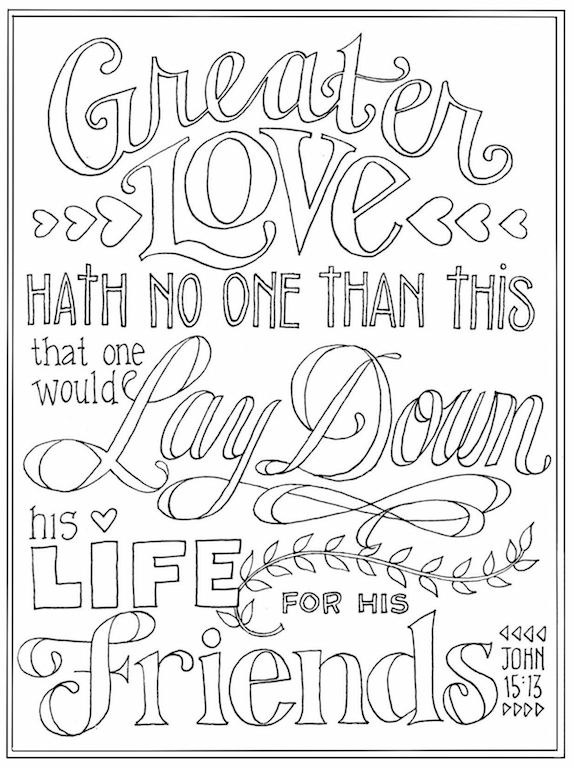 love bible verses coloring pages - photo#16